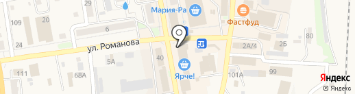 Евросеть на карте Черепаново