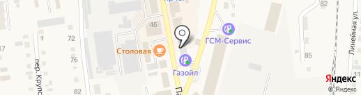 Новосибирскоблгаз на карте Черепаново