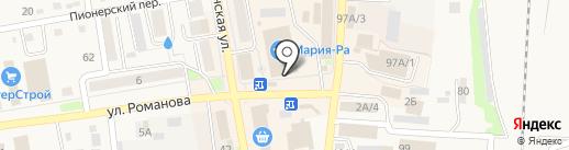 Мастерица на карте Черепаново