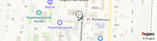 Баня на карте Черепаново