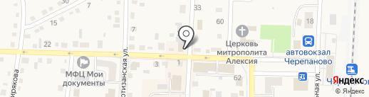 Торгово-монтажная компания на карте Черепаново