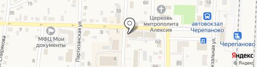 Сказка на карте Черепаново
