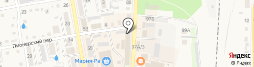 Алион на карте Черепаново