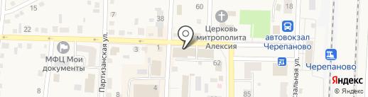 Эдем на карте Черепаново