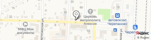 Белочка на карте Черепаново