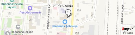 Весна на карте Черепаново