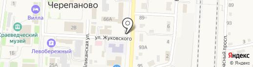 Электромаг на карте Черепаново