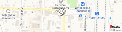 Хозя на карте Черепаново