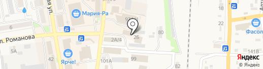 Мегаполис на карте Черепаново