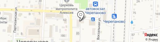 Новосибирская птицефабрика на карте Черепаново