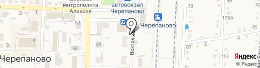 Мастерская по ремонту обуви на карте Черепаново