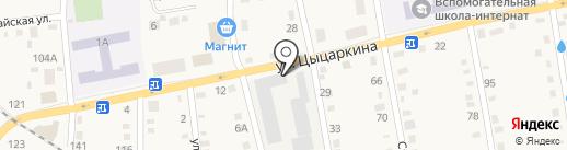 Фили на карте Черепаново