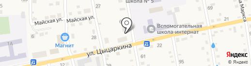 Камея на карте Черепаново