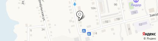 Продуктовый магазин на карте Черепаново