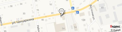 Майский на карте Черепаново