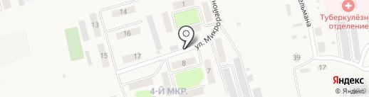 Восток на карте Черепаново
