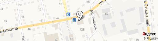 Qiwi на карте Черепаново