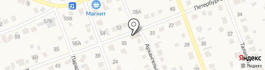 Ключ на карте Барнаула