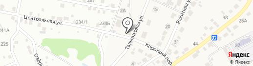 Сахар на карте Барнаула