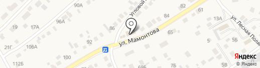 Трио на карте Барнаула