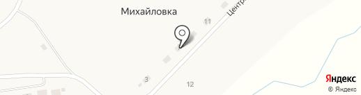 Сельский клуб на карте Михайловки