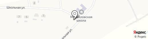 Продуктовый магазин на карте Михайловки