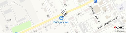 КОММУНАЛ ПРЕСТИЖ на карте Барнаула