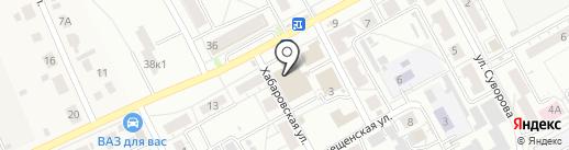 Тандыр №1 на карте Барнаула