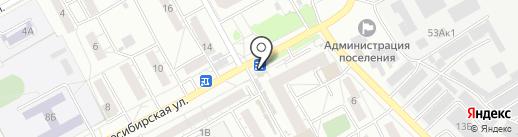 РосДеньги на карте Барнаула