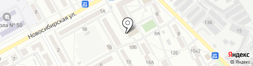 Техногений на карте Барнаула