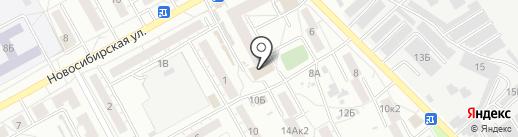 Магазин мяса на карте Барнаула