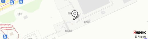 Лесничий на карте Барнаула