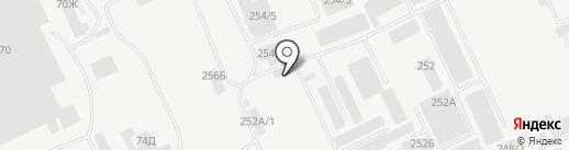 УПТК на карте Барнаула