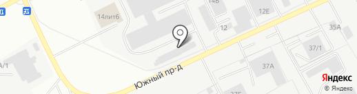 ГринСити на карте Барнаула