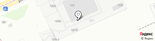 Сафаня на карте Барнаула