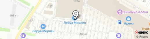 Leroy Merlin на карте Барнаула