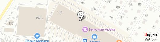Дрёма на карте Барнаула