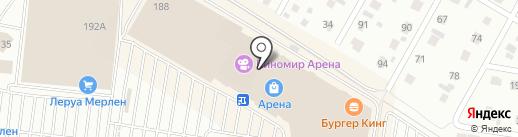 VS Mafia на карте Барнаула