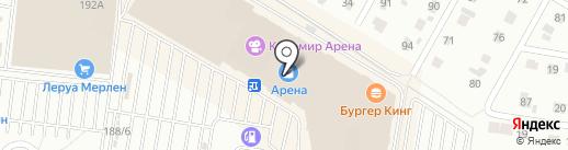 Мегафон на карте Барнаула