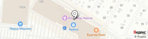 Askona на карте Барнаула