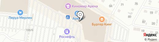 Nike на карте Барнаула