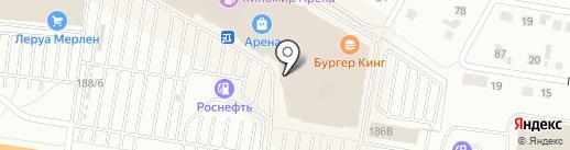 H & M на карте Барнаула