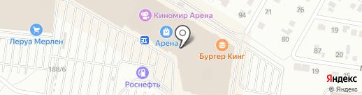 Шалуны на карте Барнаула