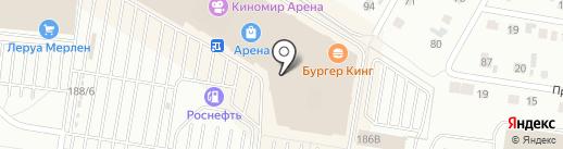 The ALBA на карте Барнаула