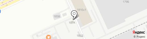 Мини-гостиница на карте Барнаула