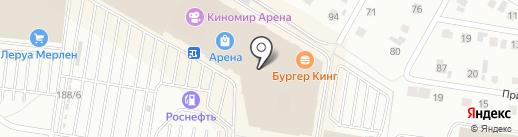 Витраж на карте Барнаула
