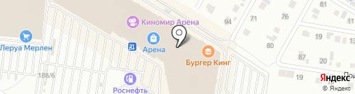 КИДСИТИ на карте Барнаула