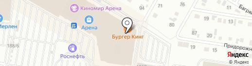 Gloria Jeans на карте Барнаула