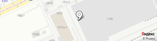 Алтайский Оптовый Центр на карте Барнаула