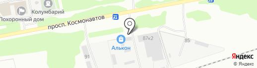 VEKA на карте Барнаула